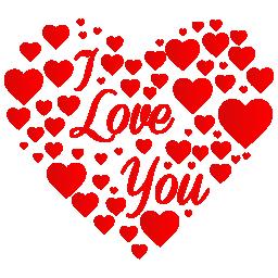 Heart, i, Love, You Icon
