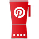 Cup, Pinterest Icon