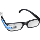 Glasses, Google, Guy Icon