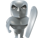 Silver, Surfer Icon