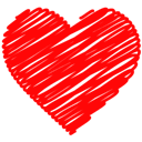 Doodle, Heart Icon