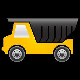 Dump, Truck Icon