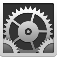 Flat, Settings Icon