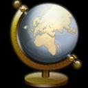 Globe, Icon, Nautilus Icon