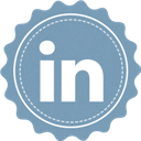In, Linked, Vintage Icon
