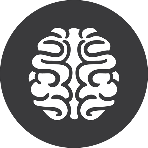 Brain, Games, Grey Icon