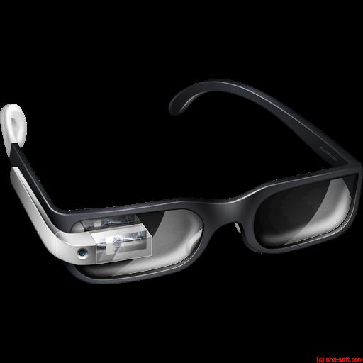 Glasses, Google, Prototype Icon