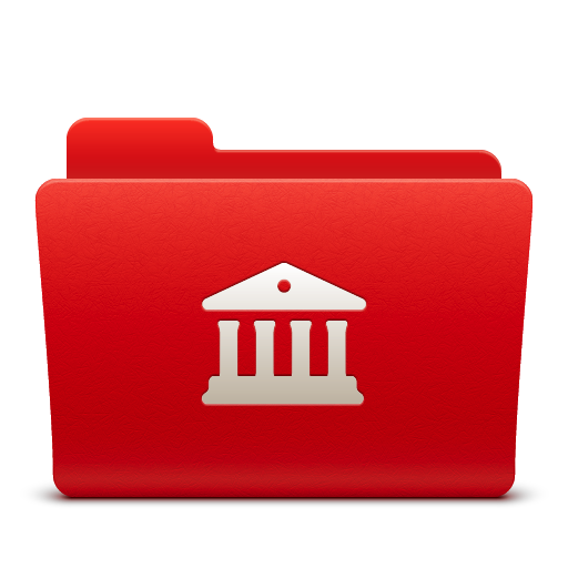 Folder, Libraries Icon
