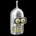 Bender, Metal, Shiny Icon