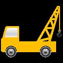 Crane, Truck Icon