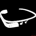 Glass, Google, Sketch Icon