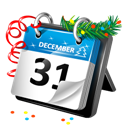 Calendar, New, Year Icon