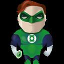 Green, Lantern Icon