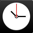 Clock, Flat Icon