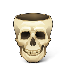 Pirate, Skull Icon
