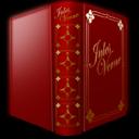Book, Icon, Jules, Verne Icon
