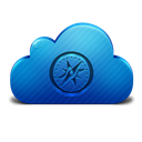 Cloud, Safari Icon