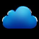 Blue, Cloud Icon