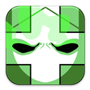 Castle, Crashers, Green Icon
