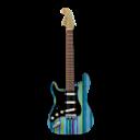 Guitar, Stratocastor, Stripes Icon