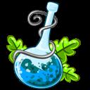 Blue, Poison Icon
