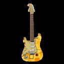 Guitar, Retropeach, Stratocastor Icon