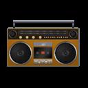 Boombox, Orange Icon