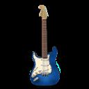 Blue, Guitar, Stratocastor Icon