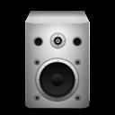 Speaker, White Icon