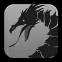 Dragon, Motion, Stop Icon