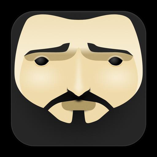 Bearded, Man Icon