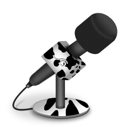 Cow Foam Mic Icon Download Free Icons
