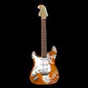 Flowers, Guitar, Stratocastor Icon