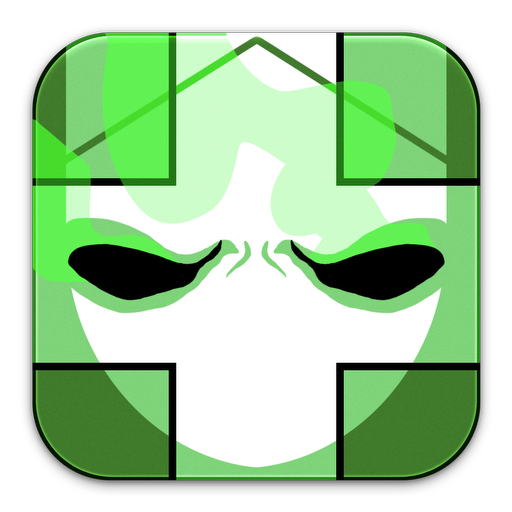 Castle, Crashers, Green Icon