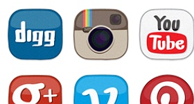 Erlen Social Media Icons