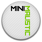 Minimalistic, Round Icon