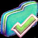 Finished, Folder, Green Icon