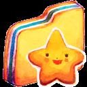 Folder, Starry Icon
