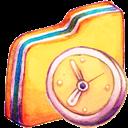 Folder, In, Progress Icon