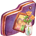 Folder, Images, Violet Icon