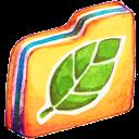 Folder, Leafie Icon
