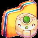 Folder, Robot Icon