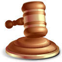 Gavel, Law Icon