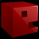 3d, e, Letter Icon