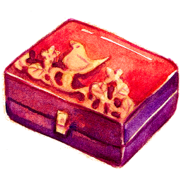 Box, Personal, Storage Icon