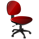 Chair, Ergonomic Icon