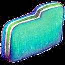 Folder, Green Icon
