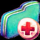 Backup, Folder, Green Icon