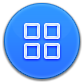 App, Drawer, Round Icon