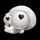 Love, Skull Icon